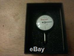 Starrett 80-114j Miniature Dial Test Indicator