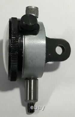 Starrett 81-111-630J Dial Indicator with Double Row Figures, 0.025 Range. 0001
