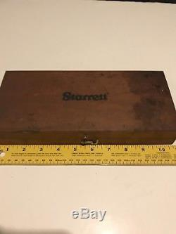 Starrett 81-111630 Dial Bore Gauge complete set