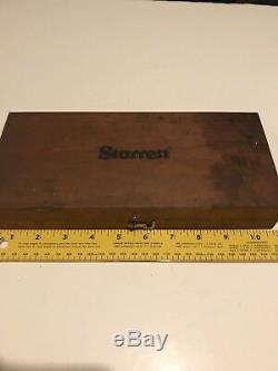 Starrett 81-111630 complete Dial Bore Gauge complete set