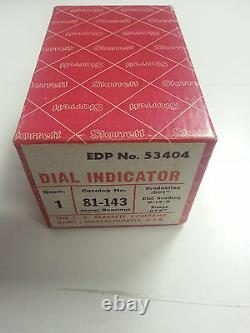Starrett 81-143J Dial Indicator IN STOCK VINTAGE