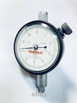 Starrett 81-211J Dial Indicator with Box. 0001 Resolution NICE