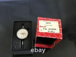 Starrett 81-241J DIAL INDICATOR new in original box