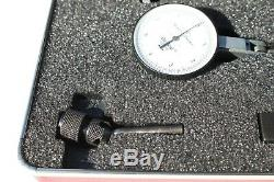 Starrett 811-5CZ Dial Indicator Machinist Tool Metal Lathe CNC Case Milling #122
