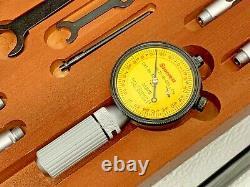 Starrett 82MCZ Dial Bore Gauge Complete Set with Starrett Dial 25-161-630 32C