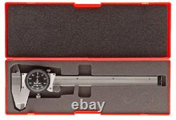 Starrett B120A-6 Black Dial Indicator, 0-6 Range. 001 Graduation BRAND NEW