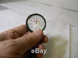 Starrett Back Plunger Dial Indicator 0 to 0.2 Range 0-100 Reading 64477 650B1