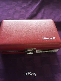 Starrett Back Plunger Dial Indicator