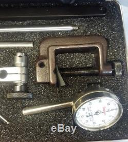 Starrett Back Plunger Dial Test Indicator #196A1Z WithBox and hard case