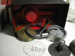 Starrett / Brown & Sharp 8 Boxes Of Disassembled Machinist Guages In Ea. Box