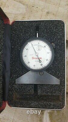 Starrett Depth Gage 640JZ (Guage) Dial Indicator