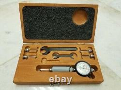 Starrett Dial Bore Gage 81-111-630 (Cat No. 82). 0001 (withOriginal Box, 4 Probes)