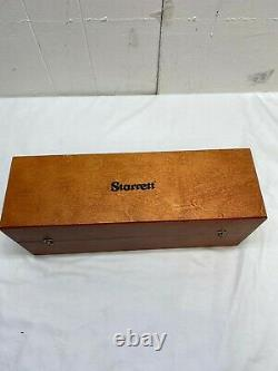 Starrett Dial Bore Gage Inside Micrometer 3 to 5.187 inch (Machinist Tool)