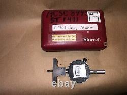 Starrett Dial Depth Gage No. 644 Indicator 644-441.001