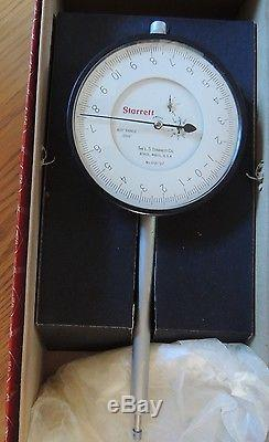 Starrett Dial Drop Indicator 656-517J 0.400 Range 0.0001