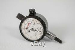 Starrett Dial Indicator 0.0001 Precision No. 81-111-630 Flat Back