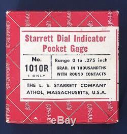 Starrett Dial Indicator 1010R