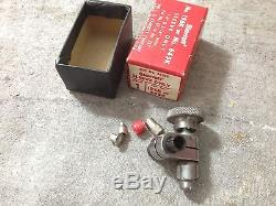 Starrett Dial Indicator 196B1 with Magnetic Base 657 & 196K Sleeve original boxes