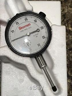 Starrett Dial Indicator 25-441J & Starrett Magnetic Base 657-1 Package Deal