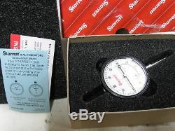Starrett Dial Indicator 25-441P 5210-00-023-4798 1 Range Dial Reads 0-100.0