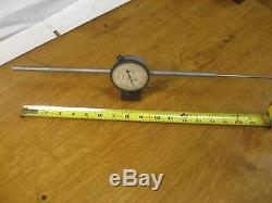 Starrett Dial Indicator 5 Inch Range With 2.5 DIA FACE light Weight 655-5041