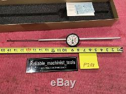 Starrett Dial Indicator 5 in Range With 2.25 DIA FACE Model 25-5041J (P288)