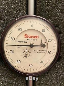Starrett Dial Indicator 655-2041J