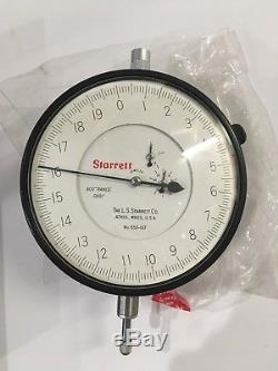 Starrett Dial Indicator 656-617.400 Range. 0001 Jeweled Box