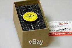Starrett Dial Indicator 81-181J Total Range 2.5mm, Graduations 0.01mm EDP 53412