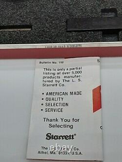 Starrett Dial Indicator 811-5CZ Metalworking Inspection and Inspection Tool