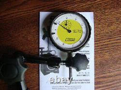 Starrett Dial Indicator Magnetic Base 660 Series with Noga Gage