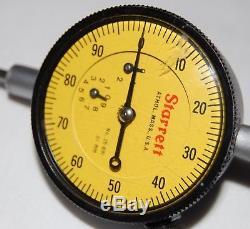 Starrett Dial Indicator No. 25-881.01mm 1.25 Throw USA