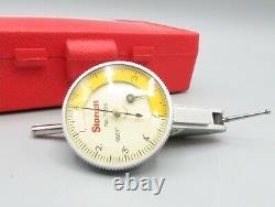 Starrett Dial Indicator No 708B. 0001 in Plastic Case
