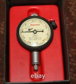 Starrett Dial Indicator No. 81-111-624 (plastic dial cover comes off)