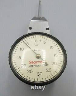 Starrett Dial Indicator No 811.001 Complete Set