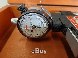 Starrett Dial Indicator Snap Gage No. 1150-8.0001 Grads 8 Stk3138