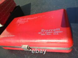Starrett Dial Test Indicator #196 A With Case With Orig. Box