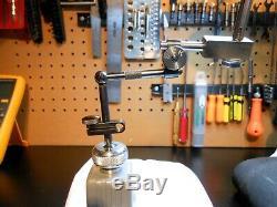 Starrett Dial Test Indicator 196B1 (. 001in) & Lufkin Miti-Mite Magnetic Base
