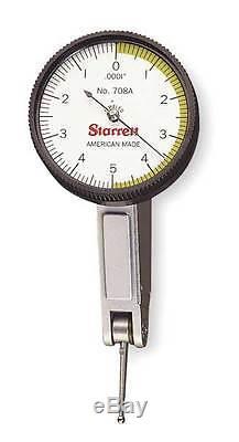 Starrett Dial Test Indicator, 708ACZ