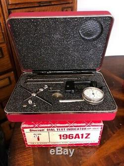 Starrett Dial Test Indicator Edp 50697 196a1z