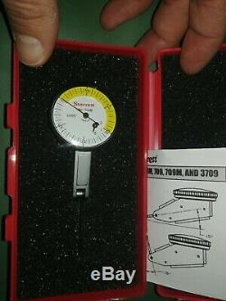 Starrett Dial Test Indicator, Hori, 0 to 0.060 In 709BZ