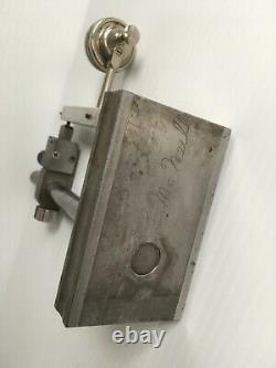 Starrett Dial Test Indicator No 196, Jeweled. 001'' with Custom stand machinist