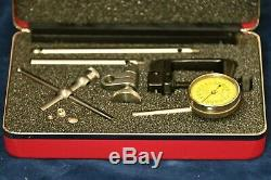 Starrett Dial Test Indicator set 196MAZ Matric, Range 5mm EDP 56305