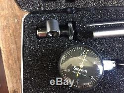 Starrett Dial Test Indicator with Accessories(A, B, C, D)-Model B709ACZ NOS