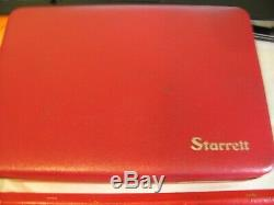 Starrett Dial test indicator 196A1Z Universal Back Plunger Dial Indicator