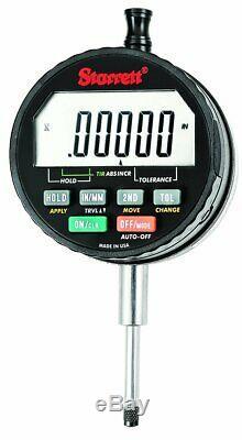 Starrett F2730IQ IQ Electronic Indicator, 1 / 25 mm Range