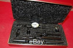 Starrett Last Word 711 Dial Indicator. 0005 Case EXCELLENT FREE SHIPPING