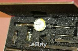 Starrett Last Word Dial Indicator # 711.0005 Inspection Tool in Box