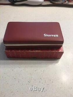 Starrett Last Word No. 711 Dial Test Indicator Set