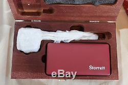 Starrett Magnetic Base + Post Assembly + Dial Test Indicator 0-0.03 /. 001